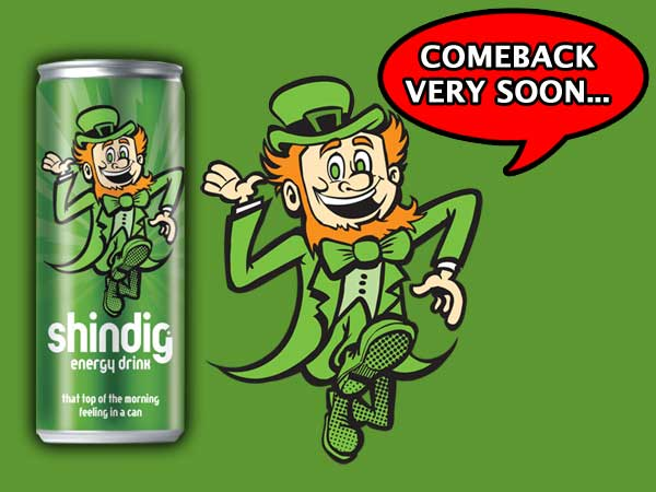 Shindig Energy Drink - Energy Drink Ireland Shindig.